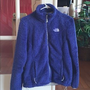 Fuzzy north face